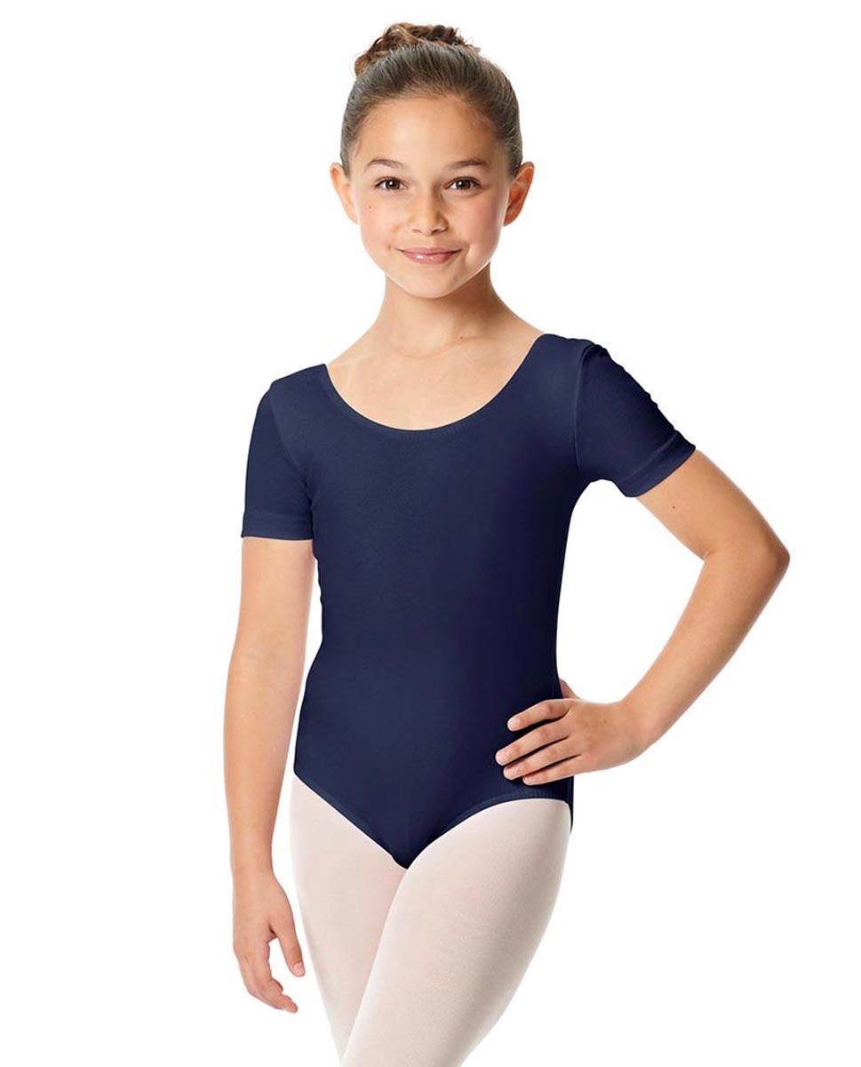 Child Short Sleeve Ballet Leotard Lauretta NAY