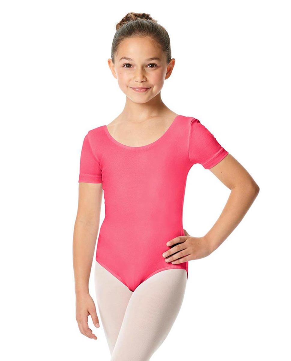 Child Short Sleeve Ballet Leotard Lauretta ROS