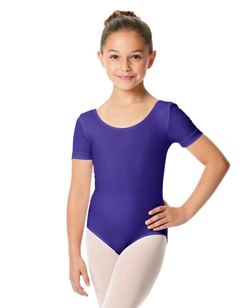 Child Short Sleeve Ballet Leotard Lauretta ROY