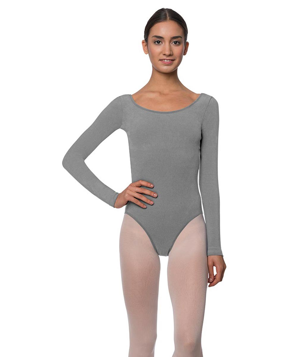 Adults Long Sleeved Velvety Ballet Leotard Liv GRE