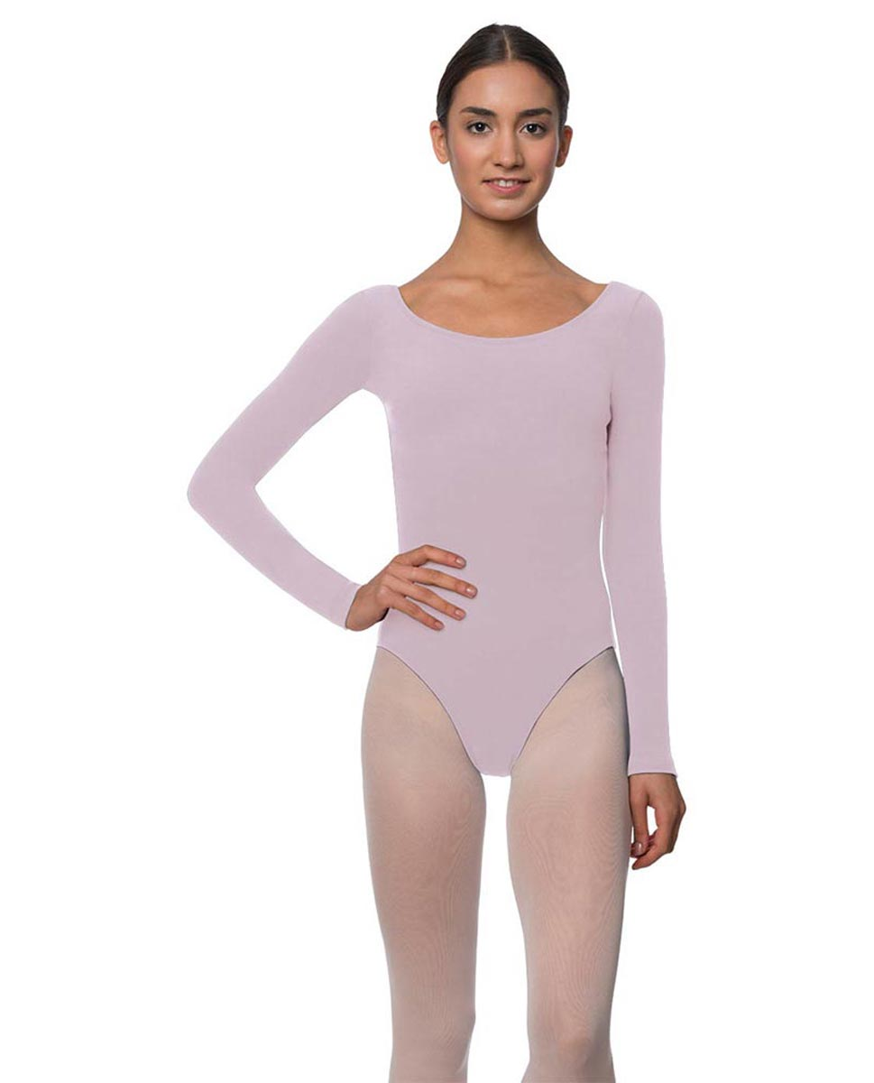 Adults Long Sleeved Velvety Ballet Leotard Liv LIL