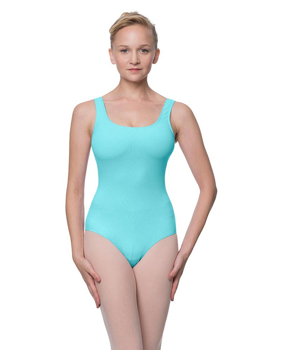 Adult Classic Tank Dance Leotard Barbara AQU