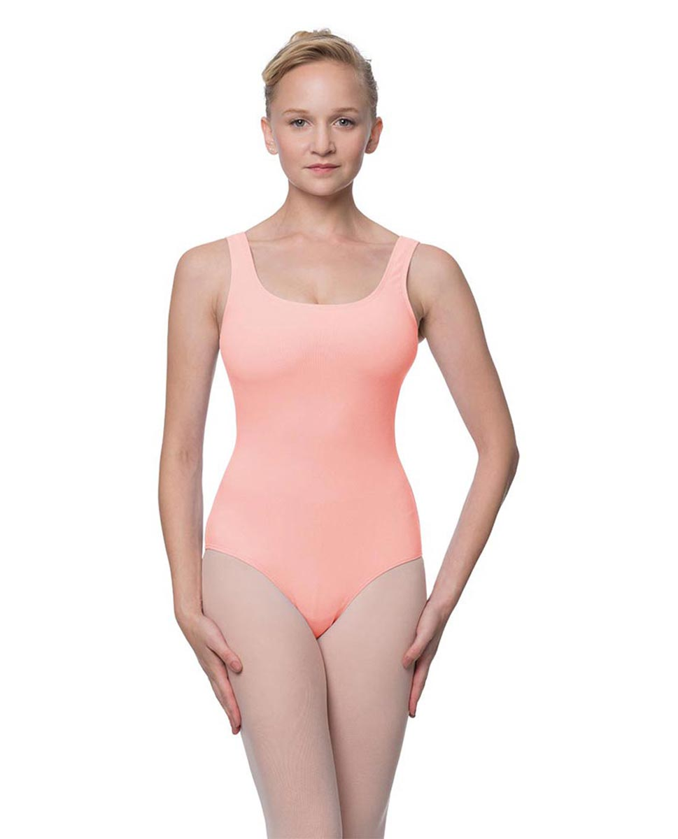 Adult Classic Tank Dance Leotard Barbara BPINK