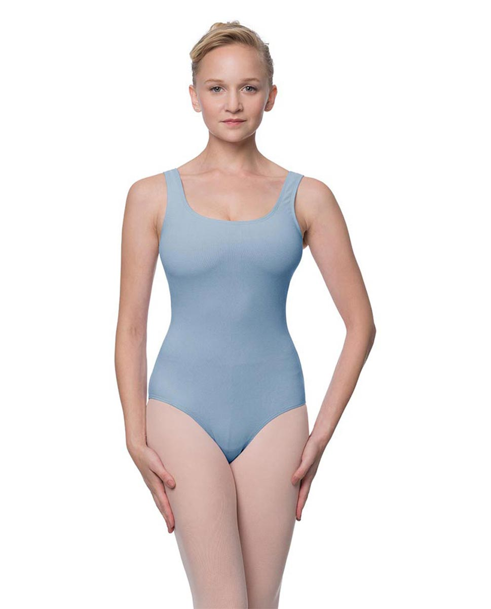 Adult Classic Tank Dance Leotard Barbara SKY