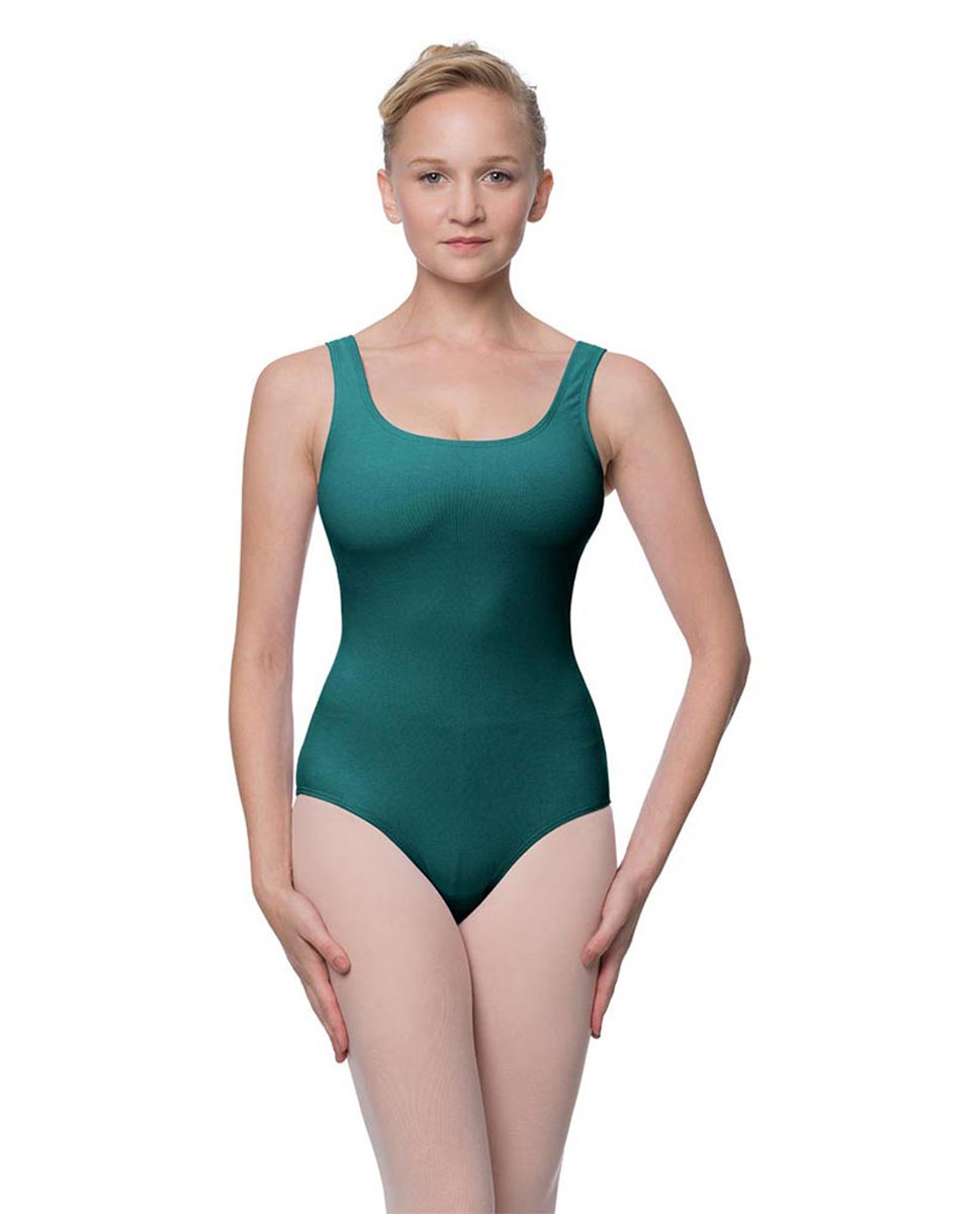 Adult Classic Tank Dance Leotard Barbara TEA