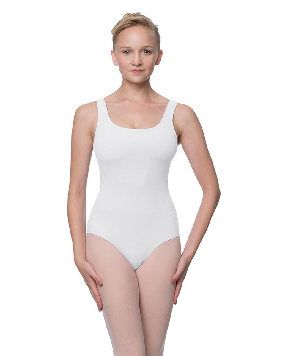 Adult Classic Tank Dance Leotard Barbara WHI