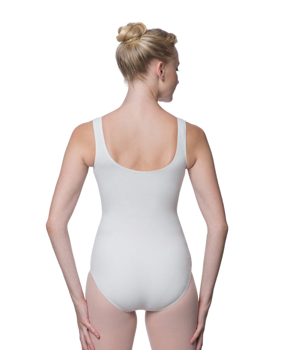 Adult Classic Tank Dance Leotard Barbara back