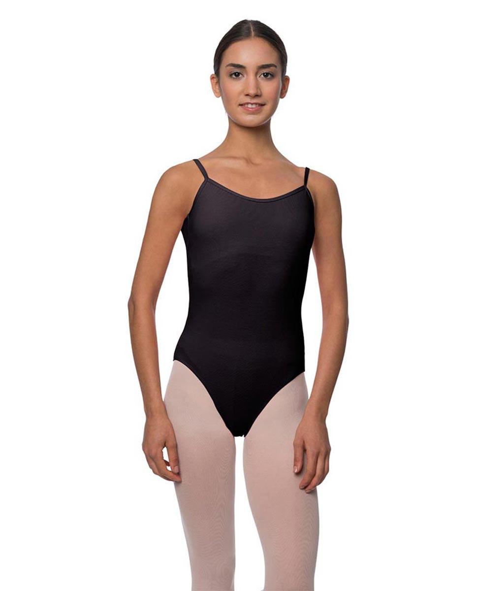 Adults Velvety Camisole Ballet Leotard Lily BLK