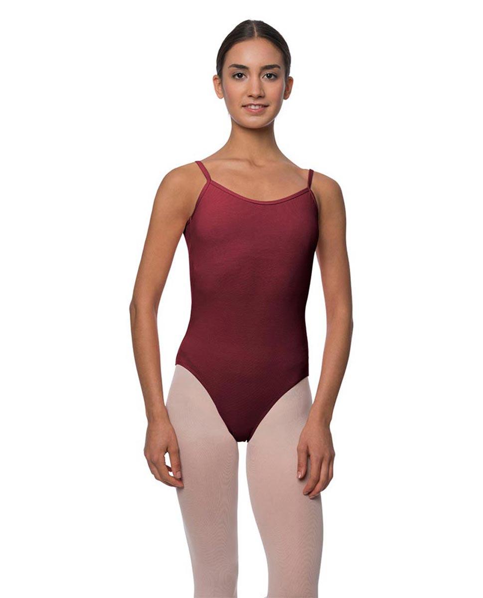 Adults Velvety Camisole Ballet Leotard Lily BUR