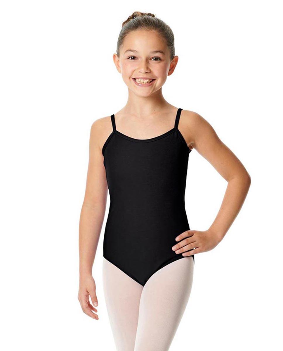 Child Camisole Dance Leotard Lily BLK