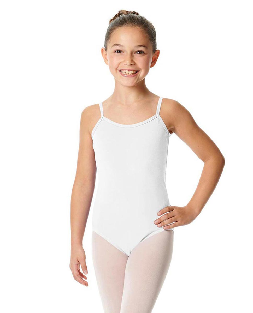 Child Camisole Dance Leotard Lily WHI