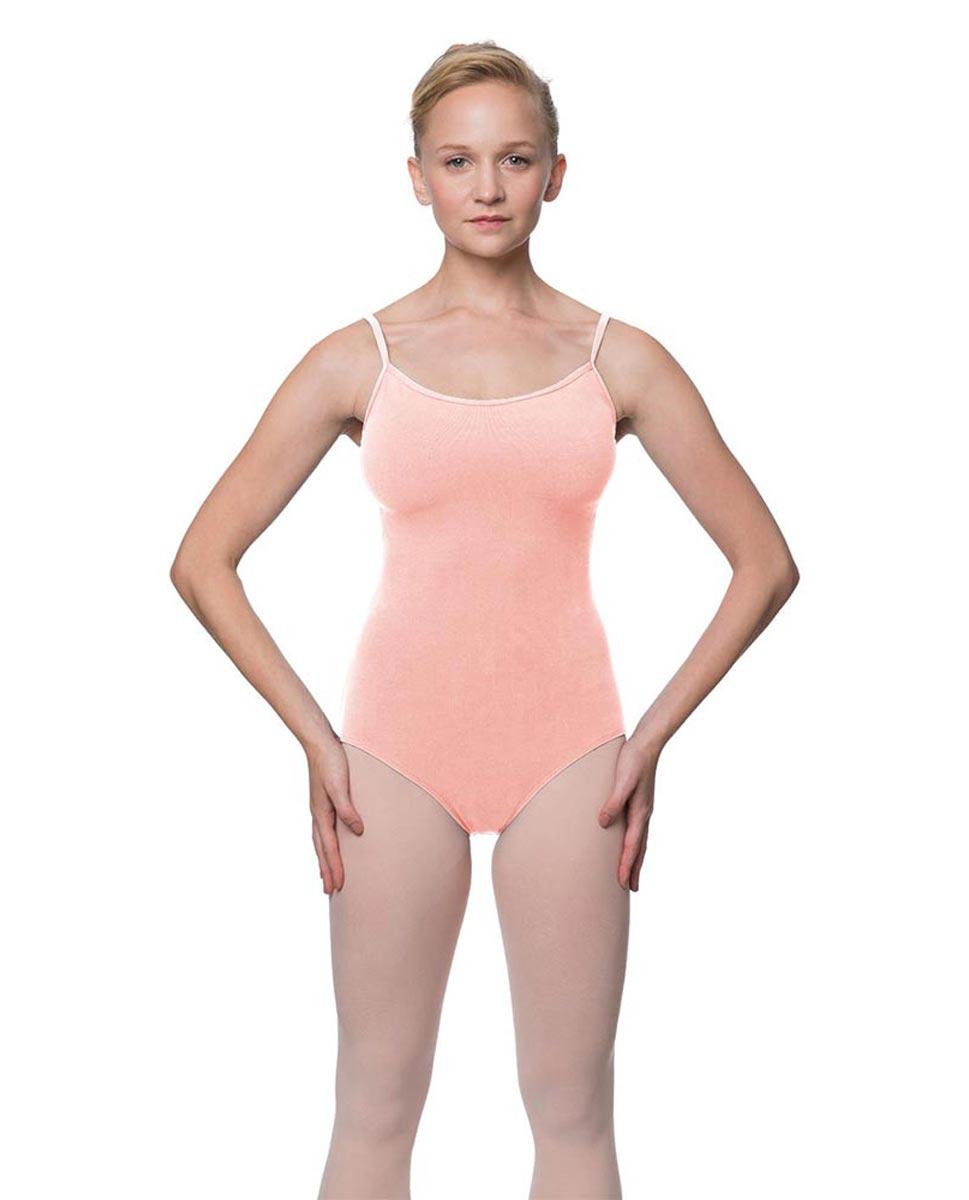 Womens Velvety Soft Camisole Ballet Leotard Lia BPINK