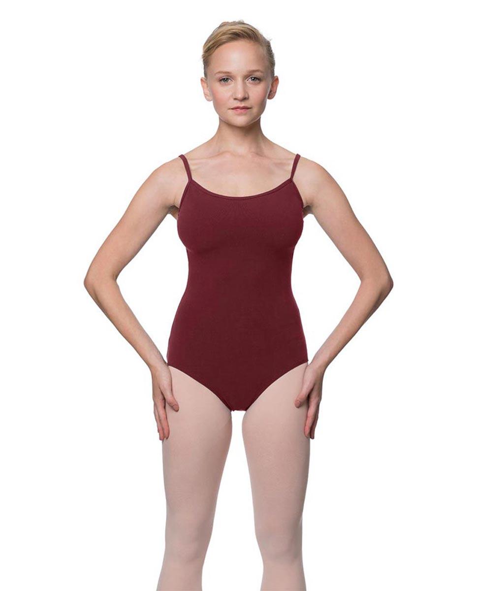 Womens Velvety Soft Camisole Ballet Leotard Lia BUR