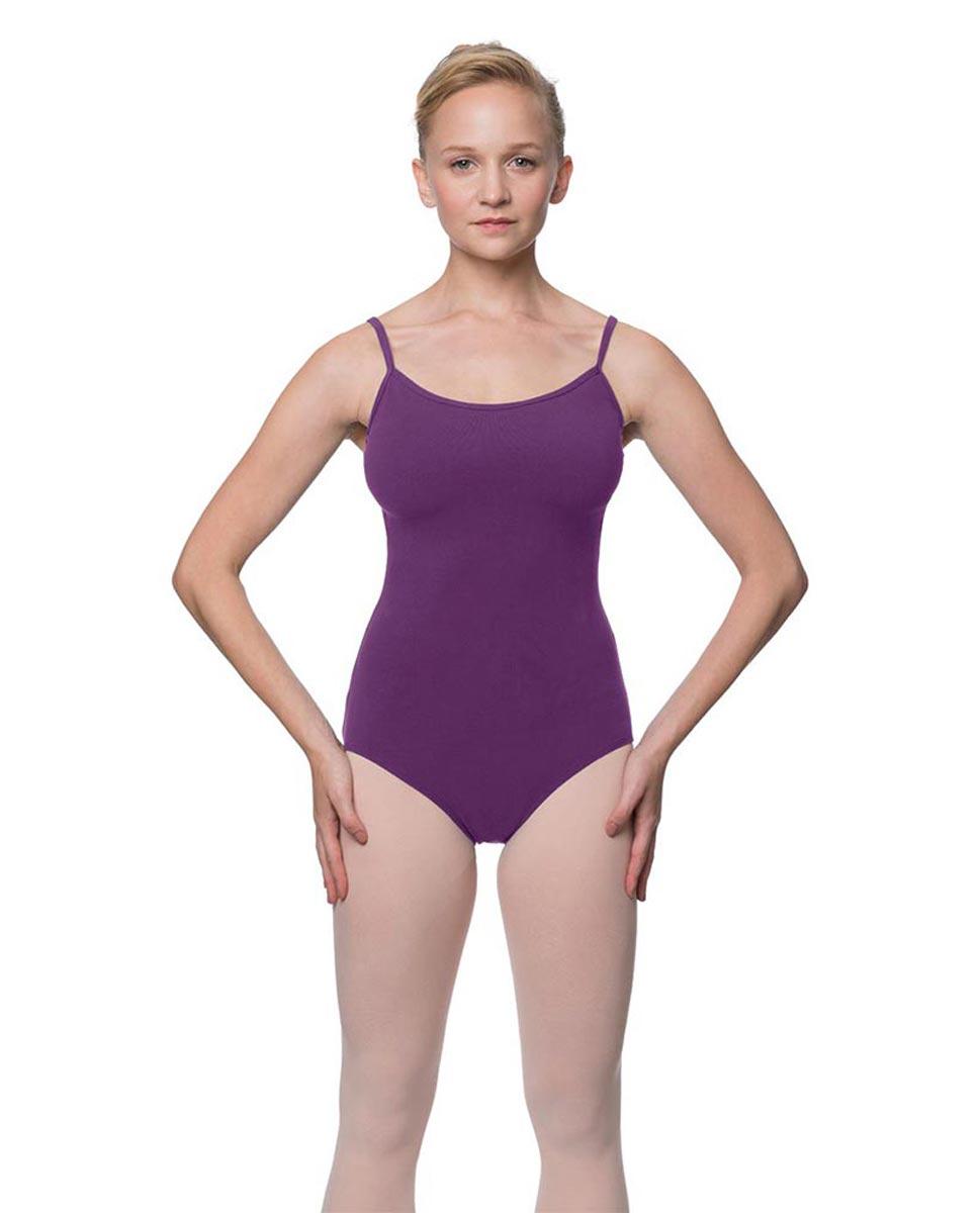 Womens Velvety Soft Camisole Ballet Leotard Lia GRAP