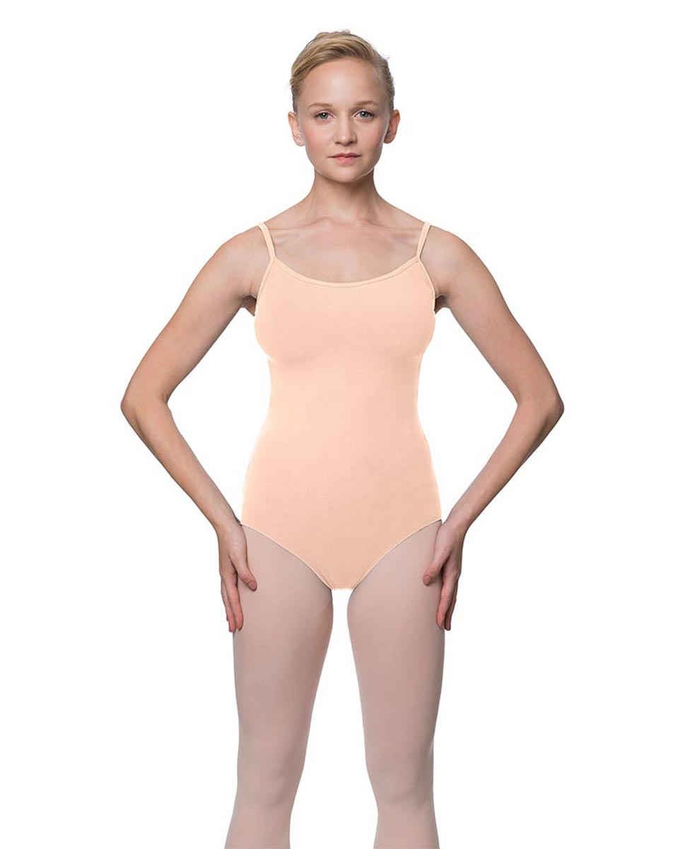Womens Velvety Soft Camisole Ballet Leotard Lia LNUD