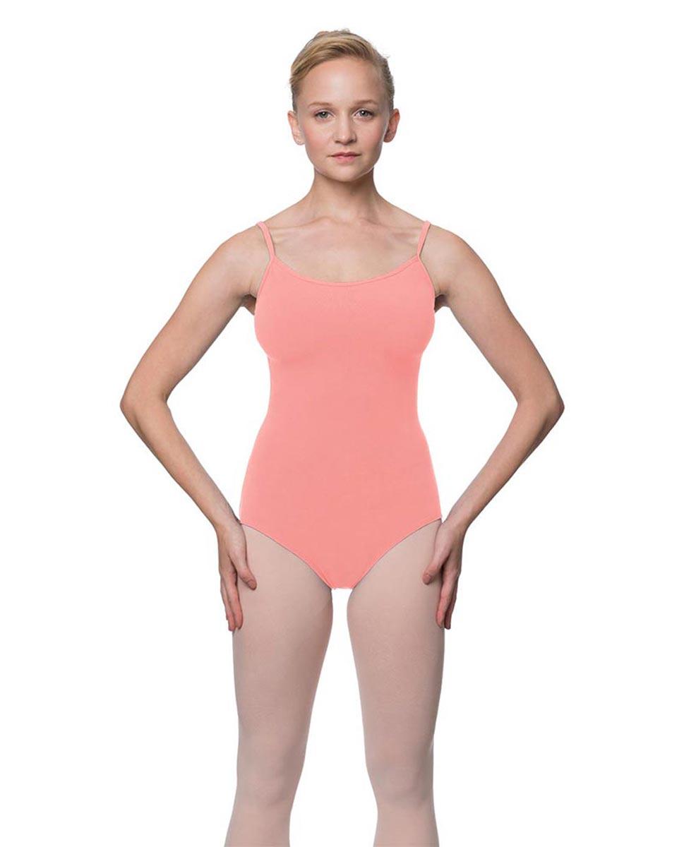 Womens Velvety Soft Camisole Ballet Leotard Lia PEAC