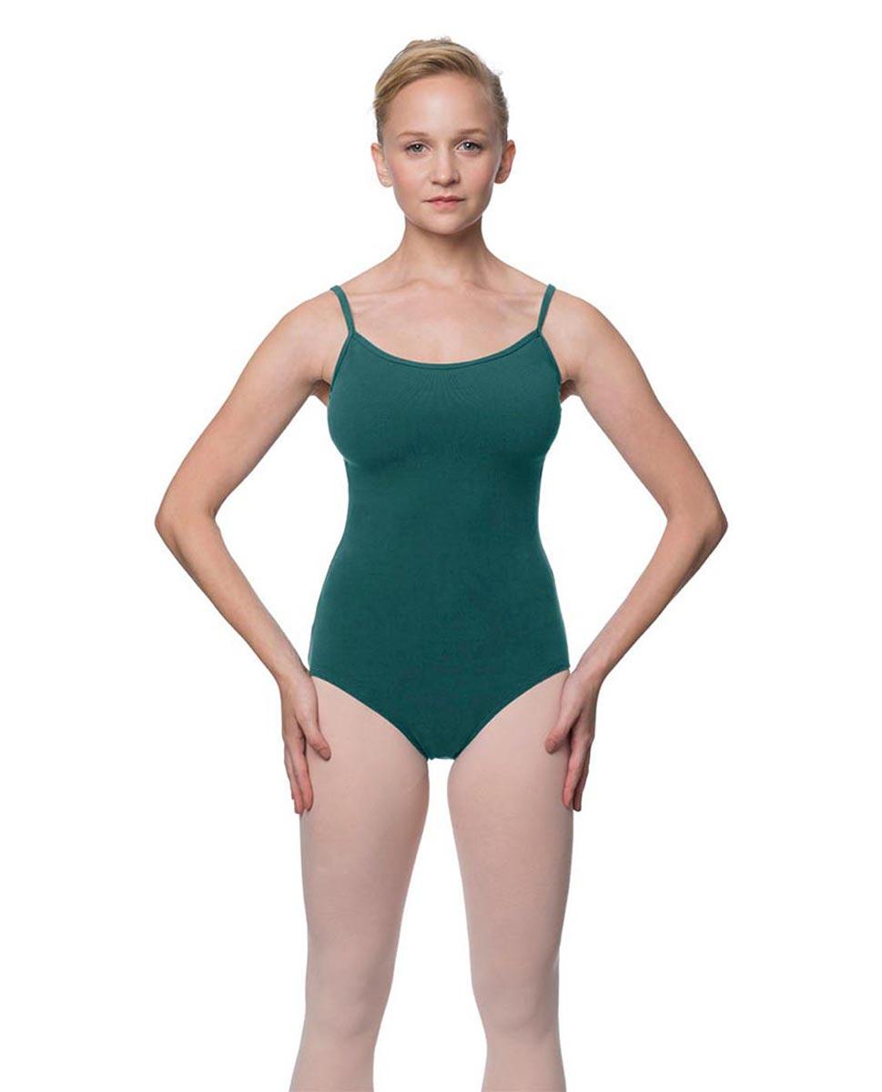 Womens Velvety Soft Camisole Ballet Leotard Lia TEA