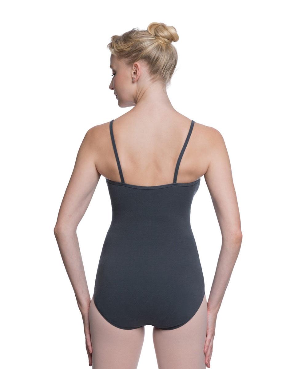 Womens Velvety Soft Camisole Ballet Leotard Lia back