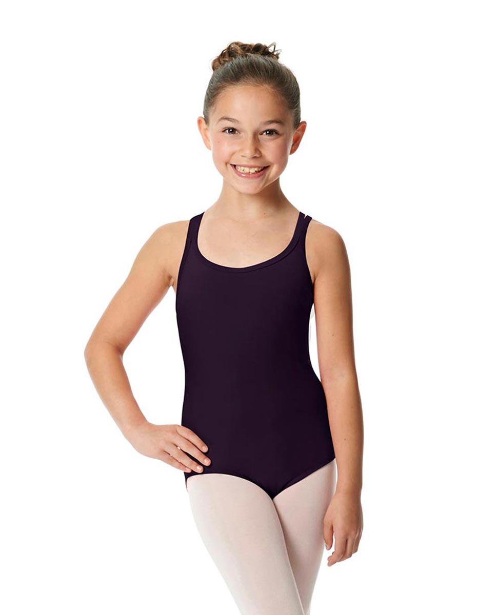 Child Camisole Strappy Back Ballet Leotard Yvette AUB