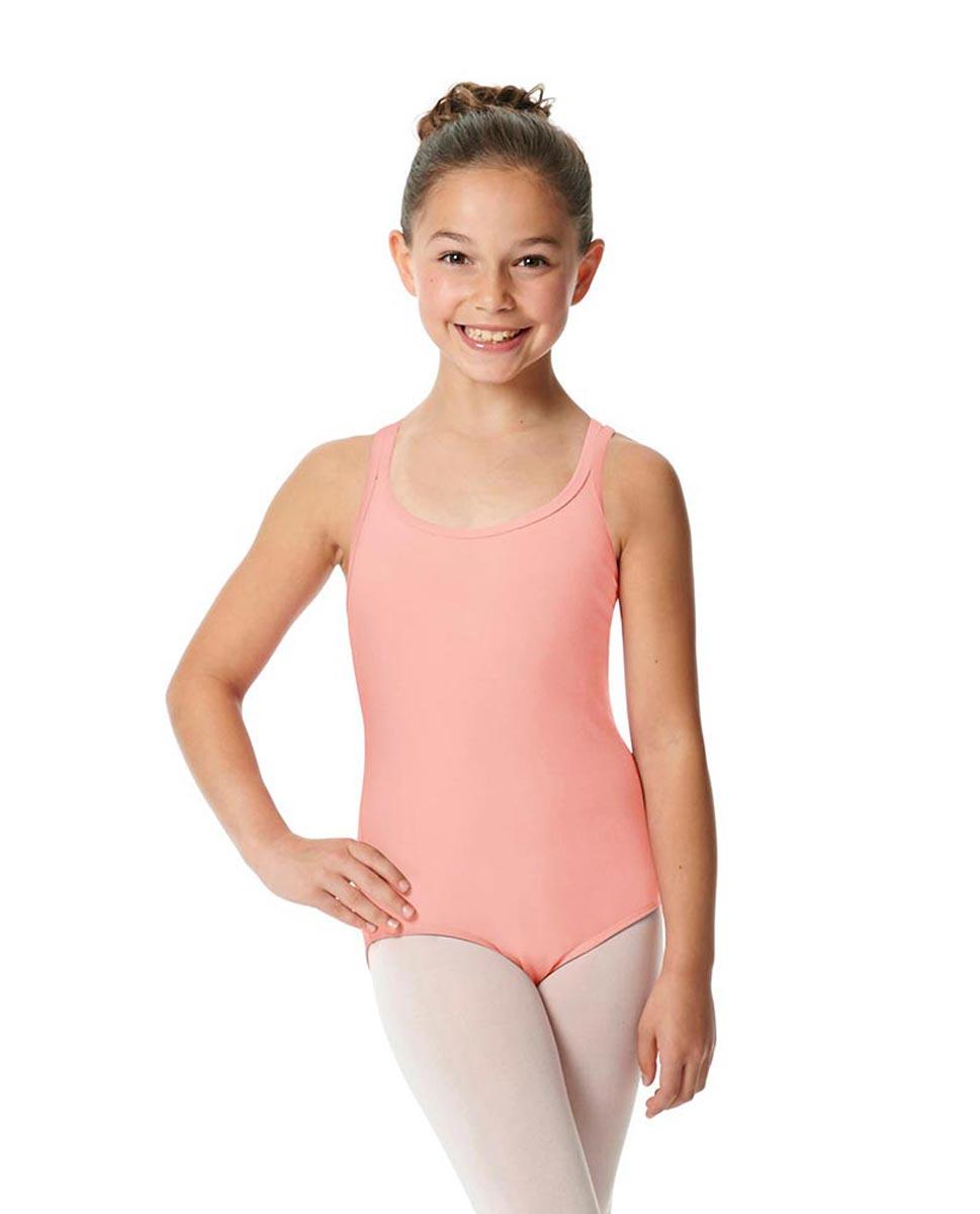 Child Camisole Strappy Back Ballet Leotard Yvette BPIINK