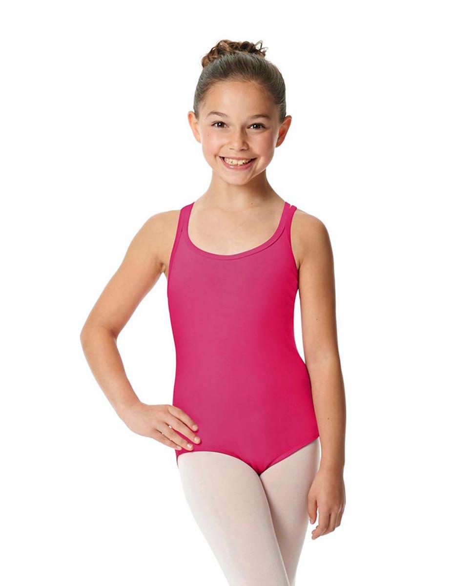 Child Camisole Strappy Back Ballet Leotard Yvette FUC