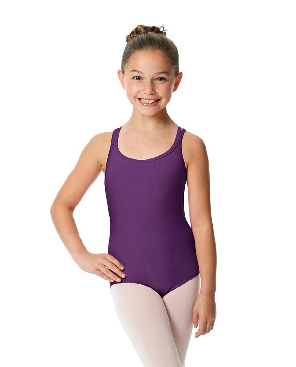 Child Camisole Strappy Back Ballet Leotard Yvette GRAP