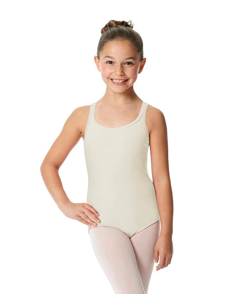Child Camisole Strappy Back Ballet Leotard Yvette IVOR