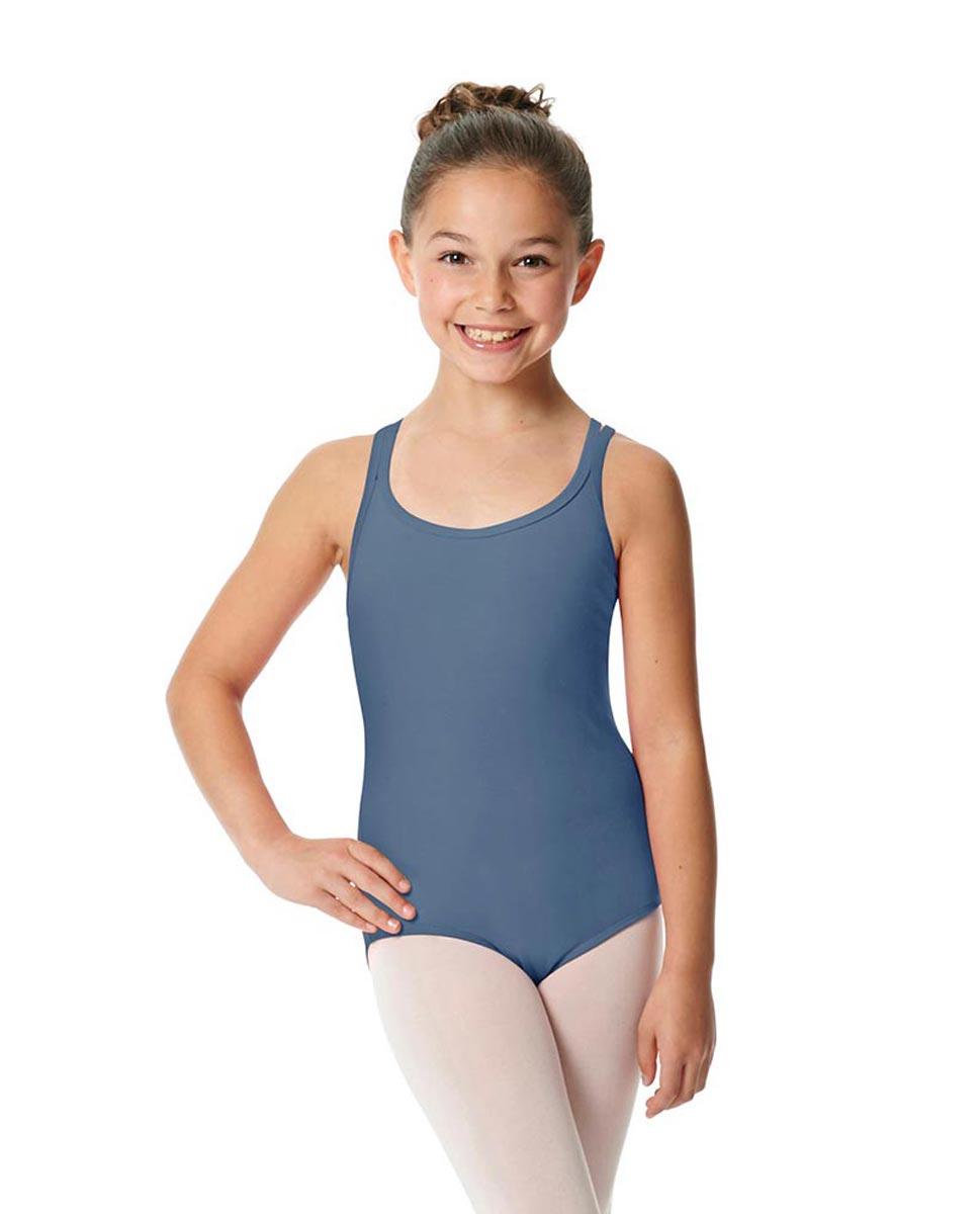Child Camisole Strappy Back Ballet Leotard Yvette JEA