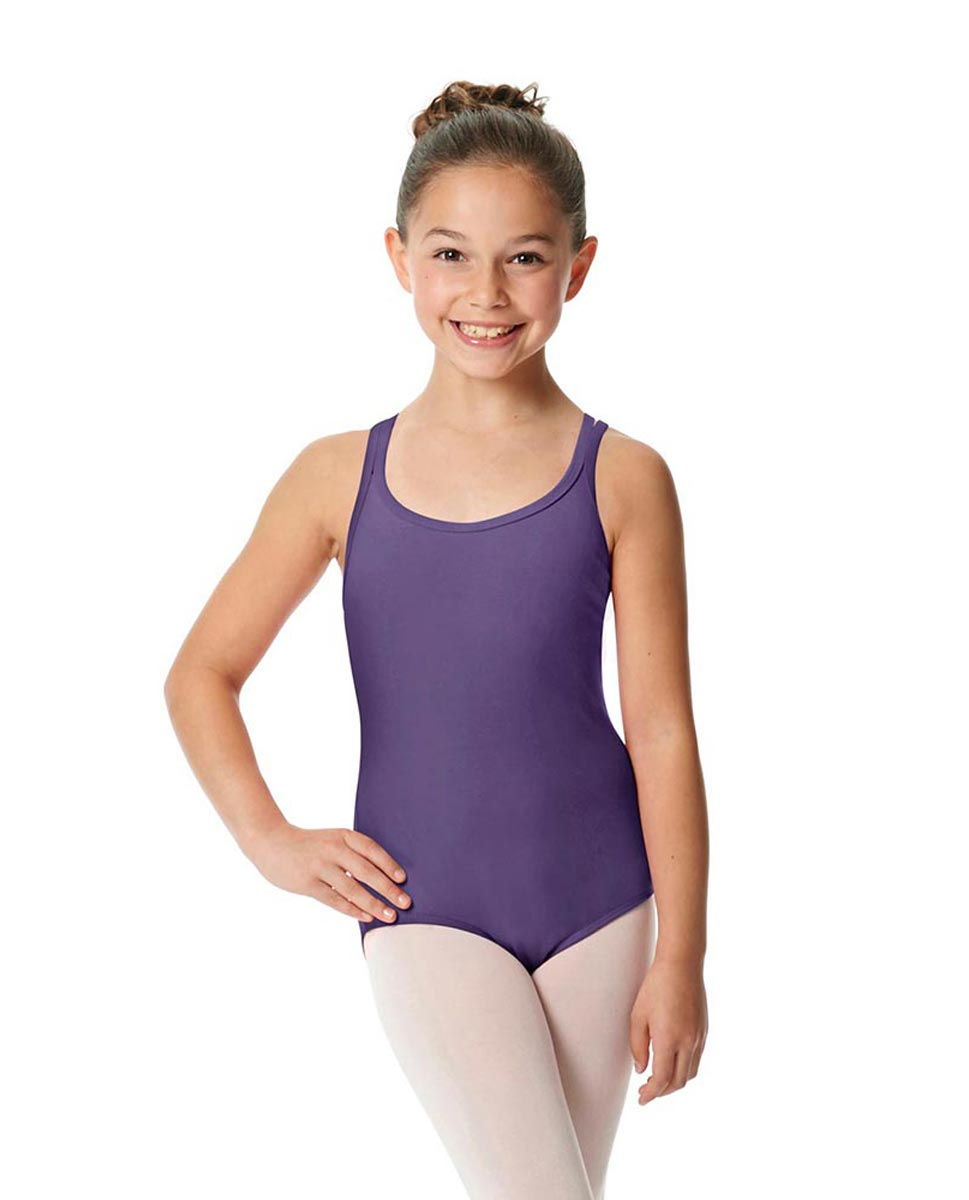 Child Camisole Strappy Back Ballet Leotard Yvette LAV
