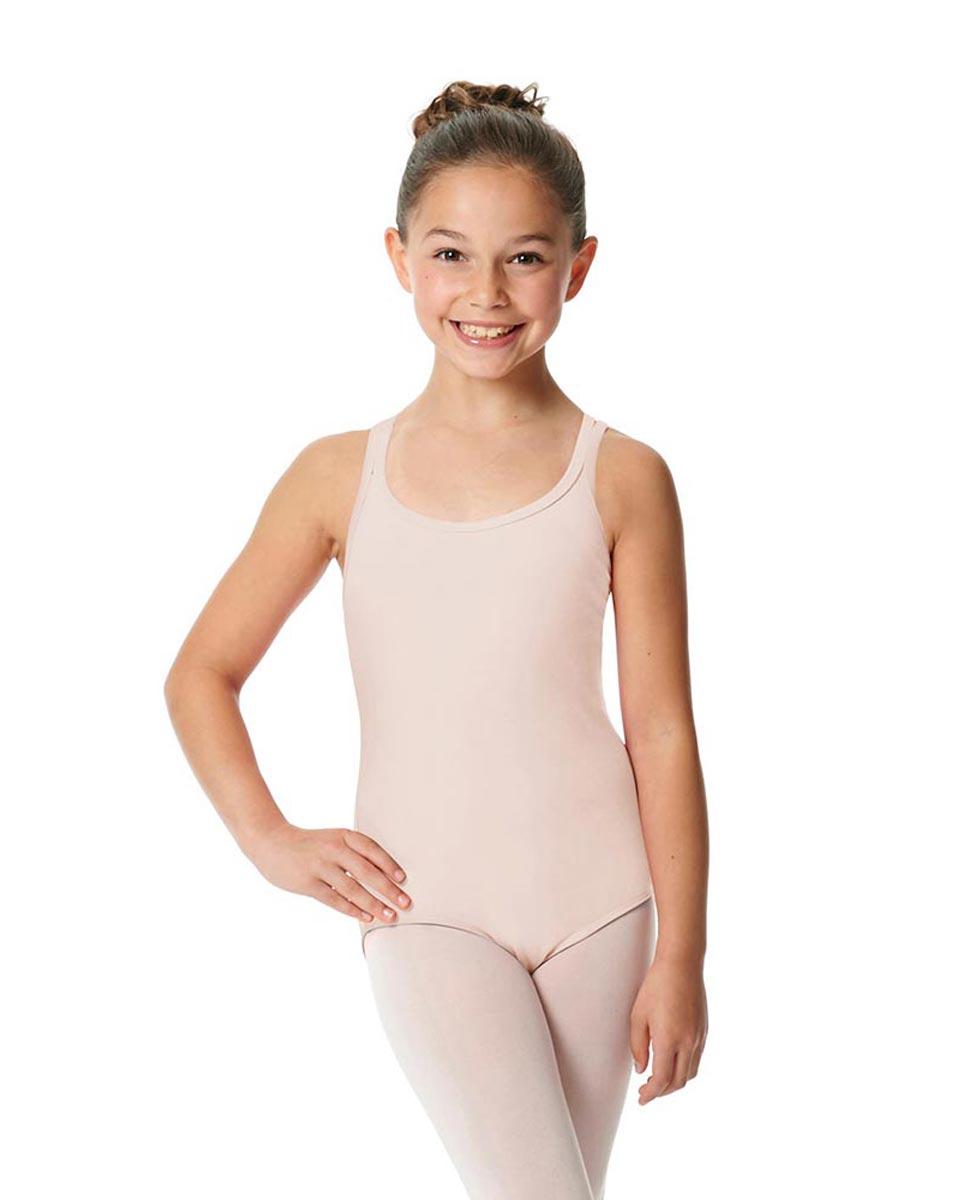 Child Camisole Strappy Back Ballet Leotard Yvette LPNK