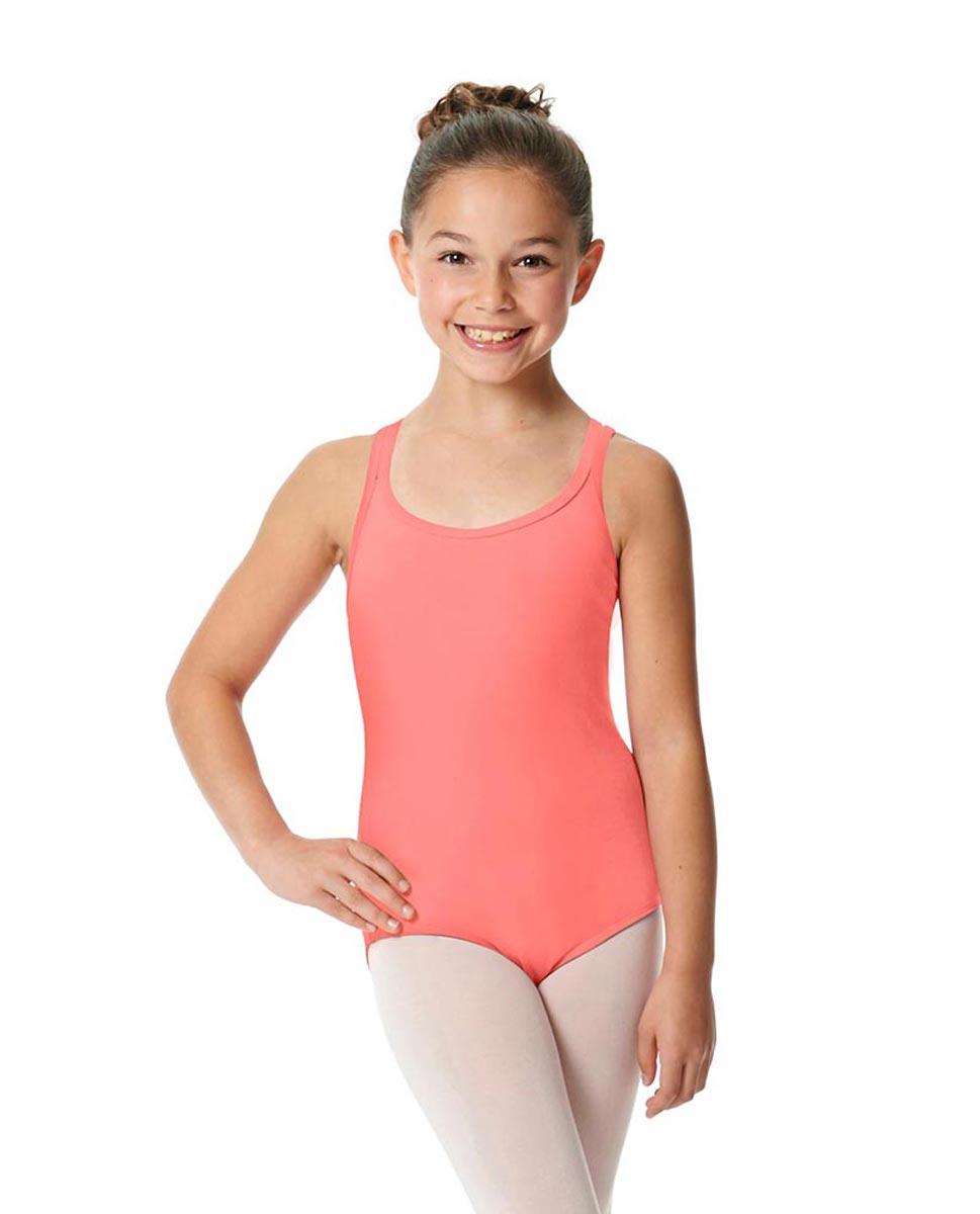 Child Camisole Strappy Back Ballet Leotard Yvette PEAC