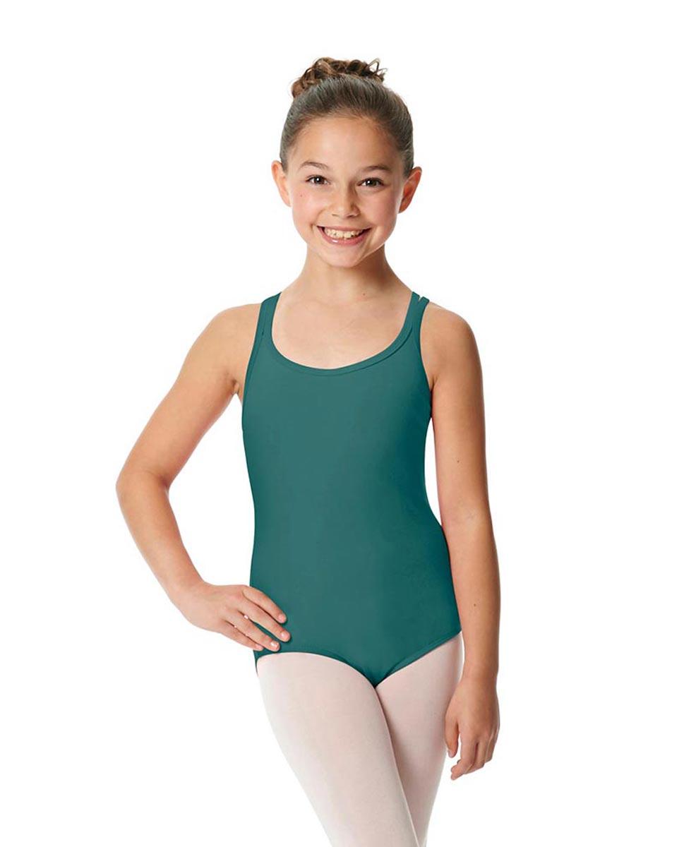 Child Camisole Strappy Back Ballet Leotard Yvette TEA