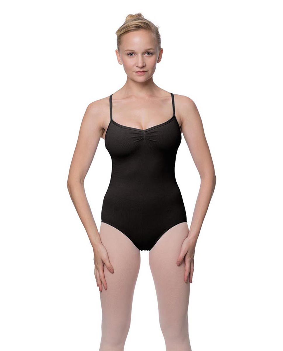 Adults X-Back Camisole Dance Leotard Nell BLK