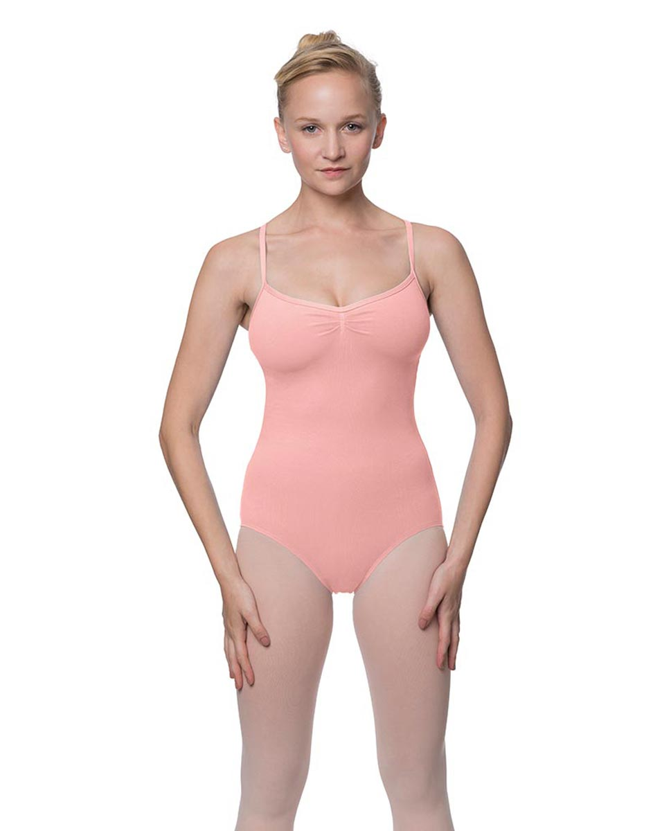Adults X-Back Camisole Dance Leotard Nell BPNK