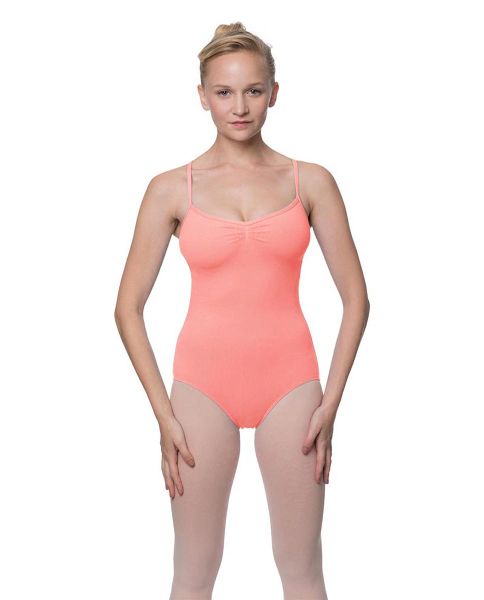 Adults X-Back Camisole Dance Leotard Nell PEAC