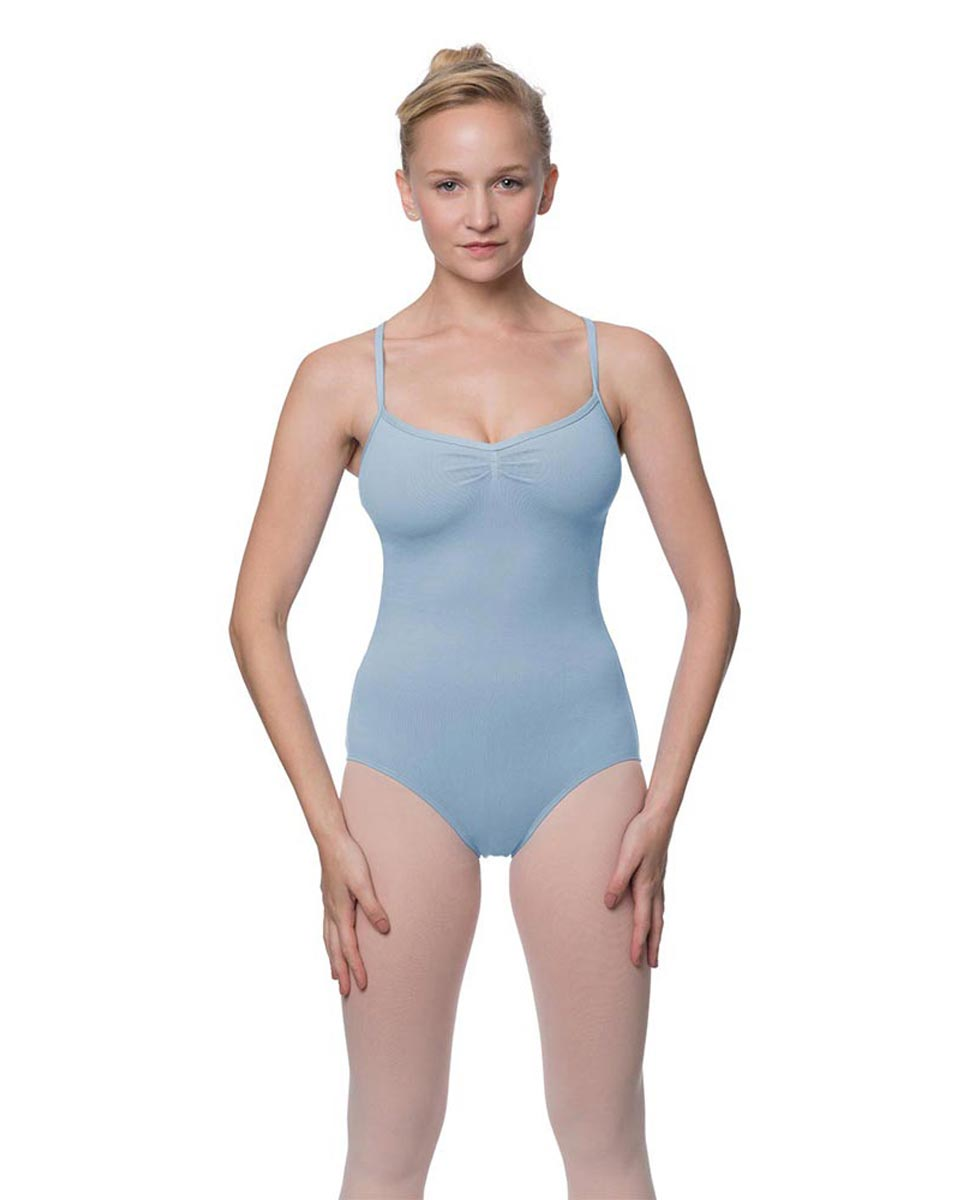 Adults X-Back Camisole Dance Leotard Nell SKY