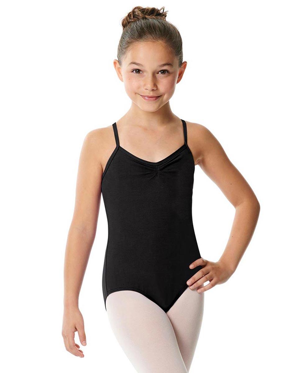 Child X-Back Camisole Ballet Leotard Nell BLK