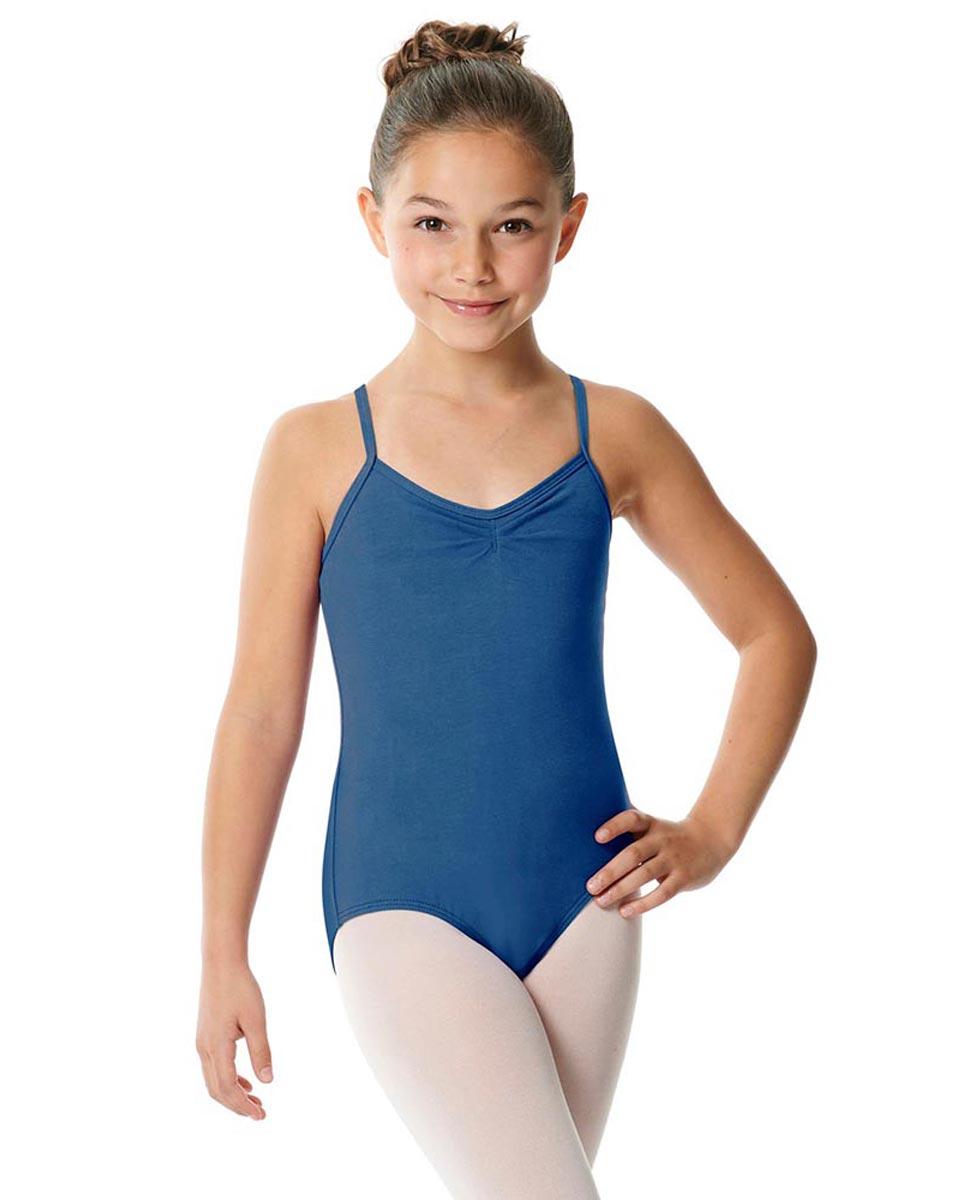 Child X-Back Camisole Ballet Leotard Nell BLUE