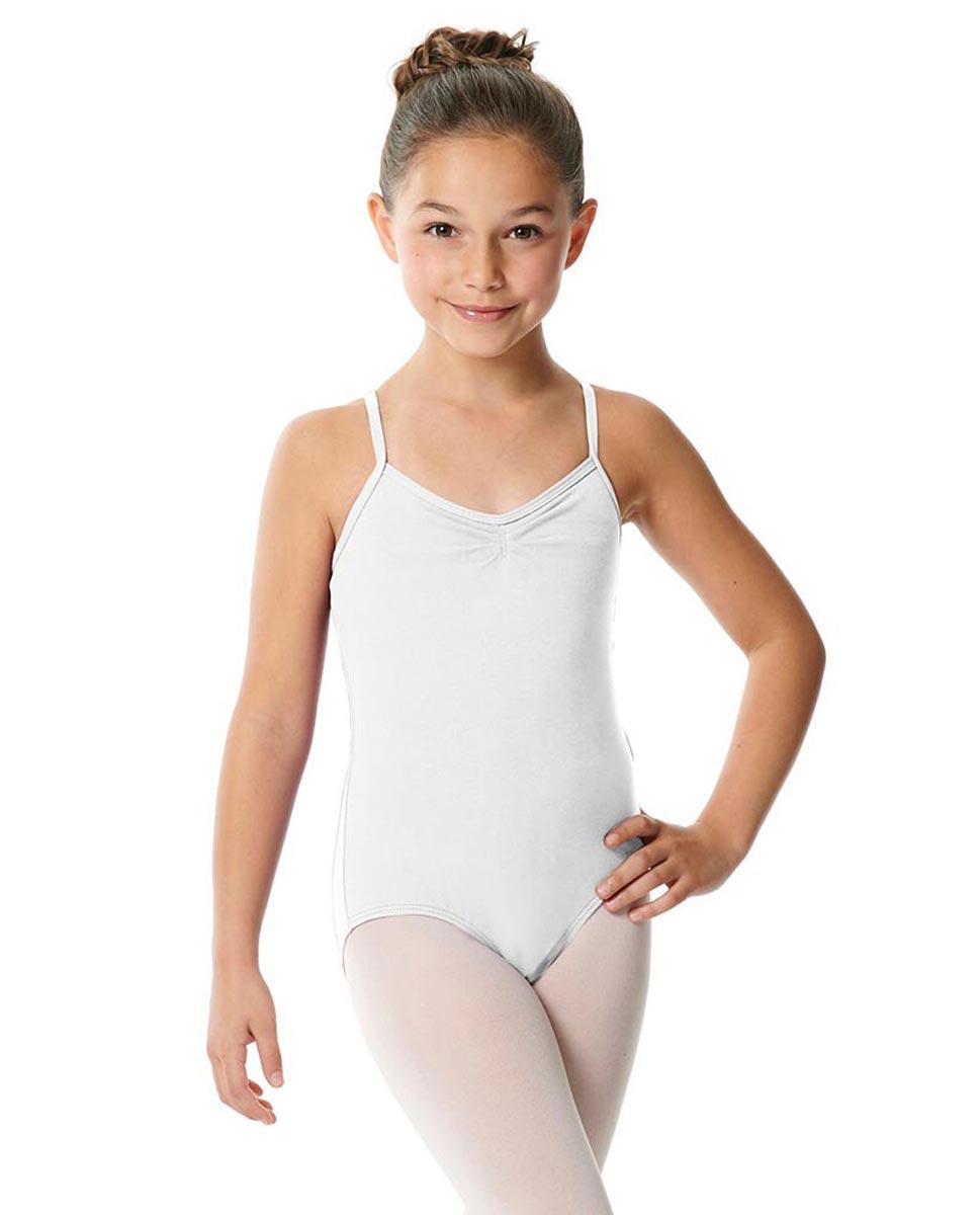 Child X-Back Camisole Ballet Leotard Nell WHI