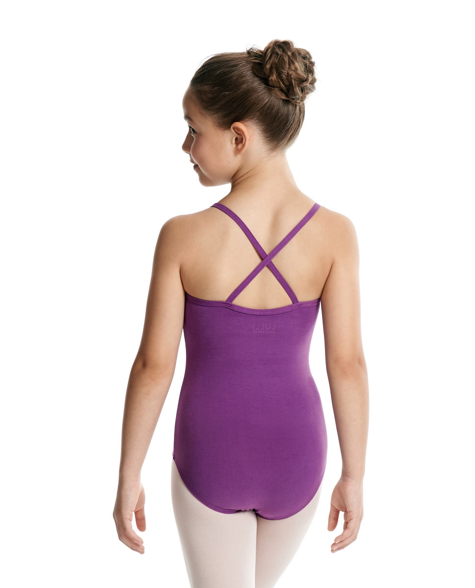 Child X-Back Camisole Ballet Leotard Nell back