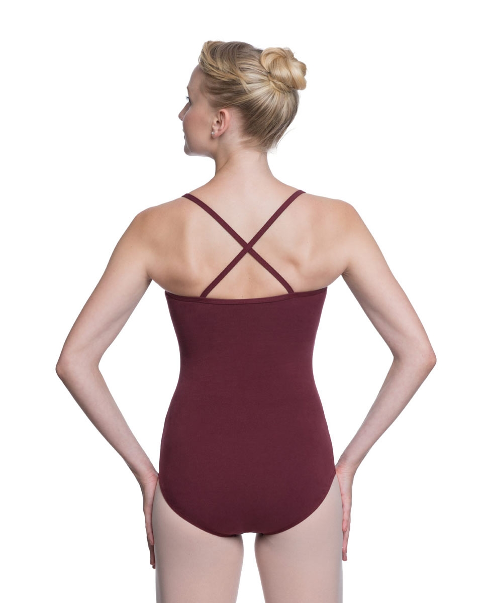 Adults X-Back Camisole Dance Leotard Nell back