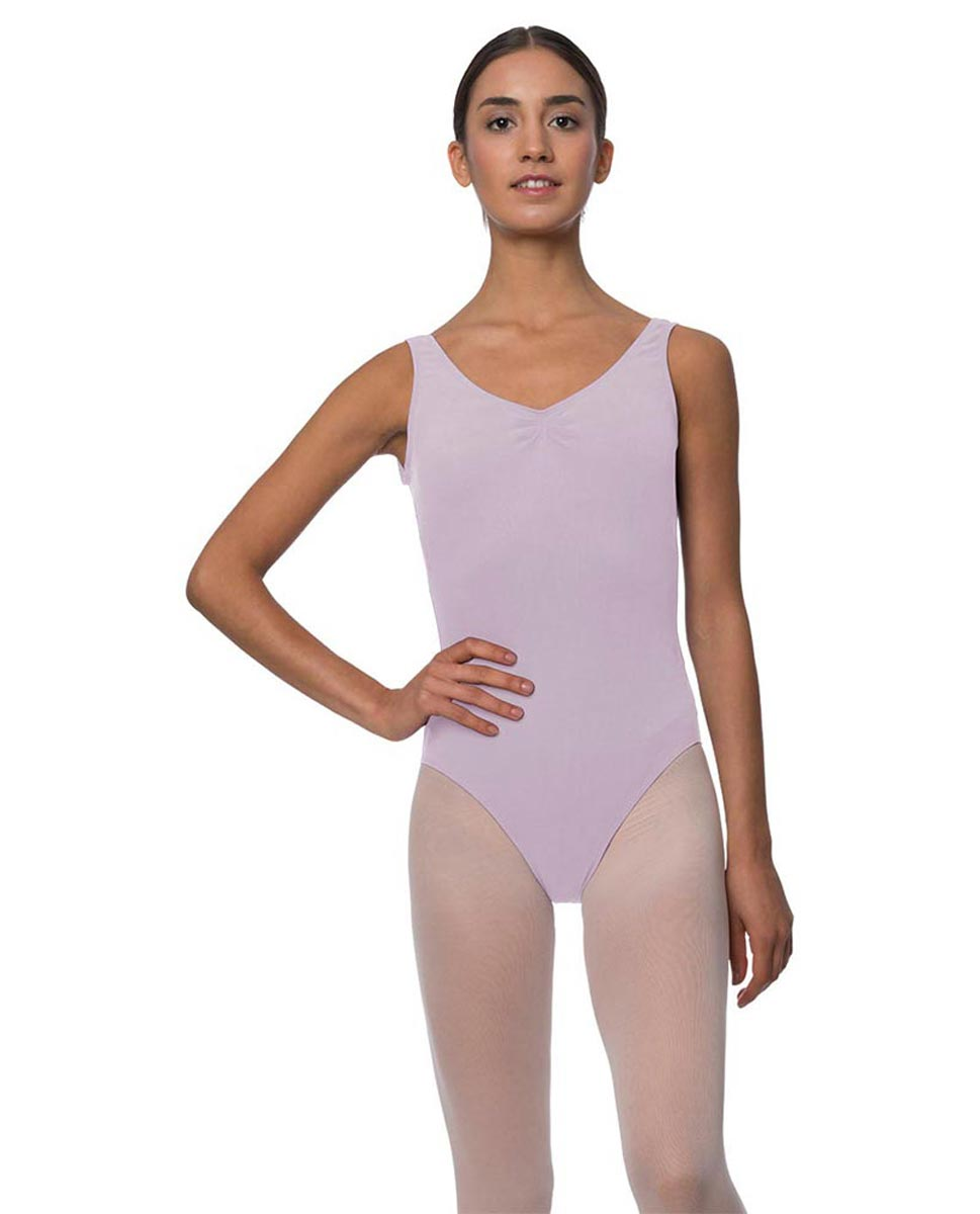 Adults Pinch Front and Low Back Tank Dance Leotard Luna LIL
