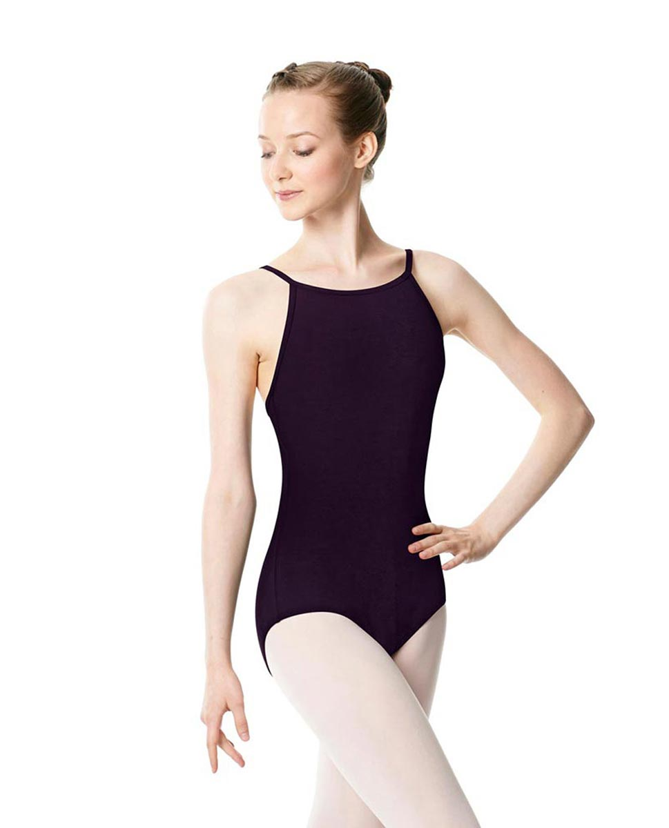 Adults High Jewel Neck Camisole Ballet Leotard Calla AUB