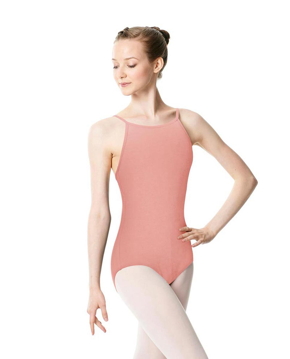 Adults High Jewel Neck Camisole Ballet Leotard Calla BPINK