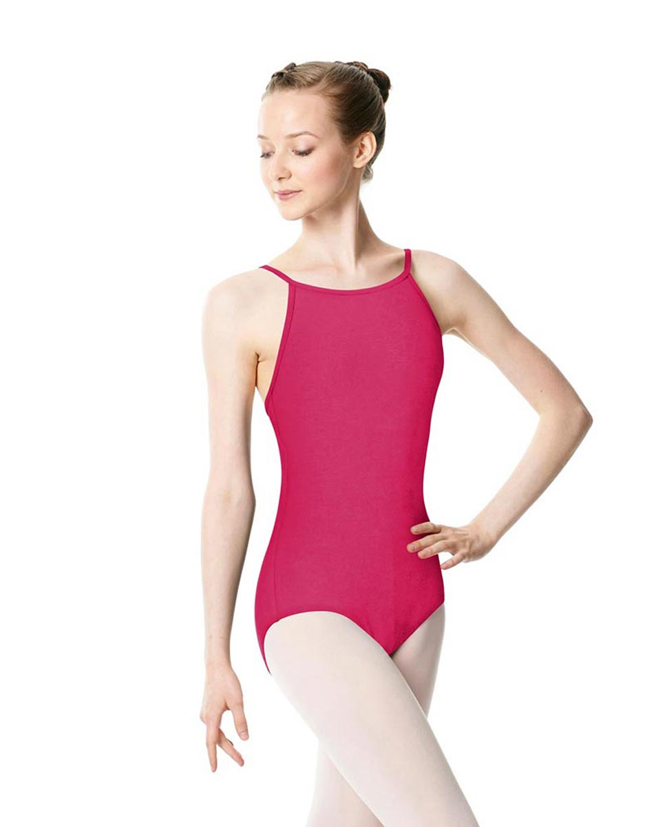 Adults High Jewel Neck Camisole Ballet Leotard Calla FUC