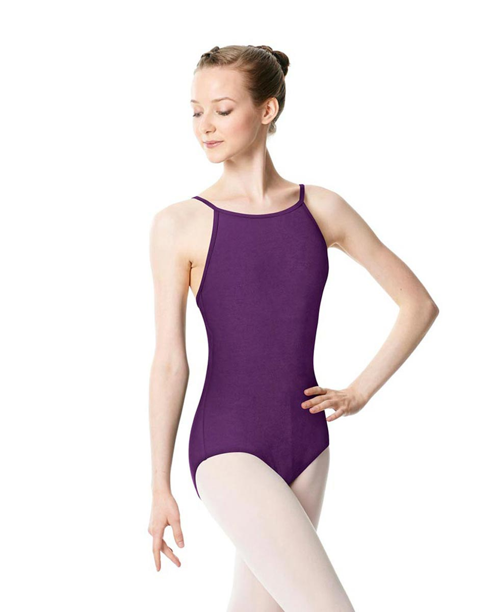 Adults High Jewel Neck Camisole Ballet Leotard Calla GRAP