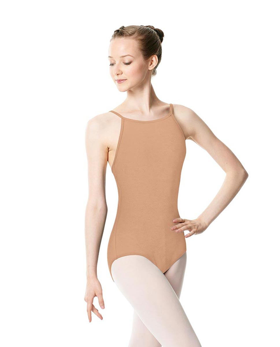Adults High Jewel Neck Camisole Ballet Leotard Calla DNUD