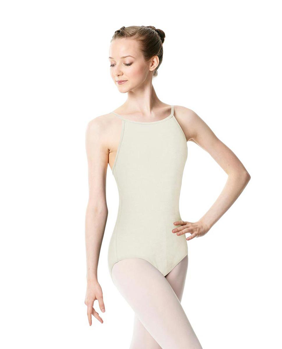 Adults High Jewel Neck Camisole Ballet Leotard Calla IVOR