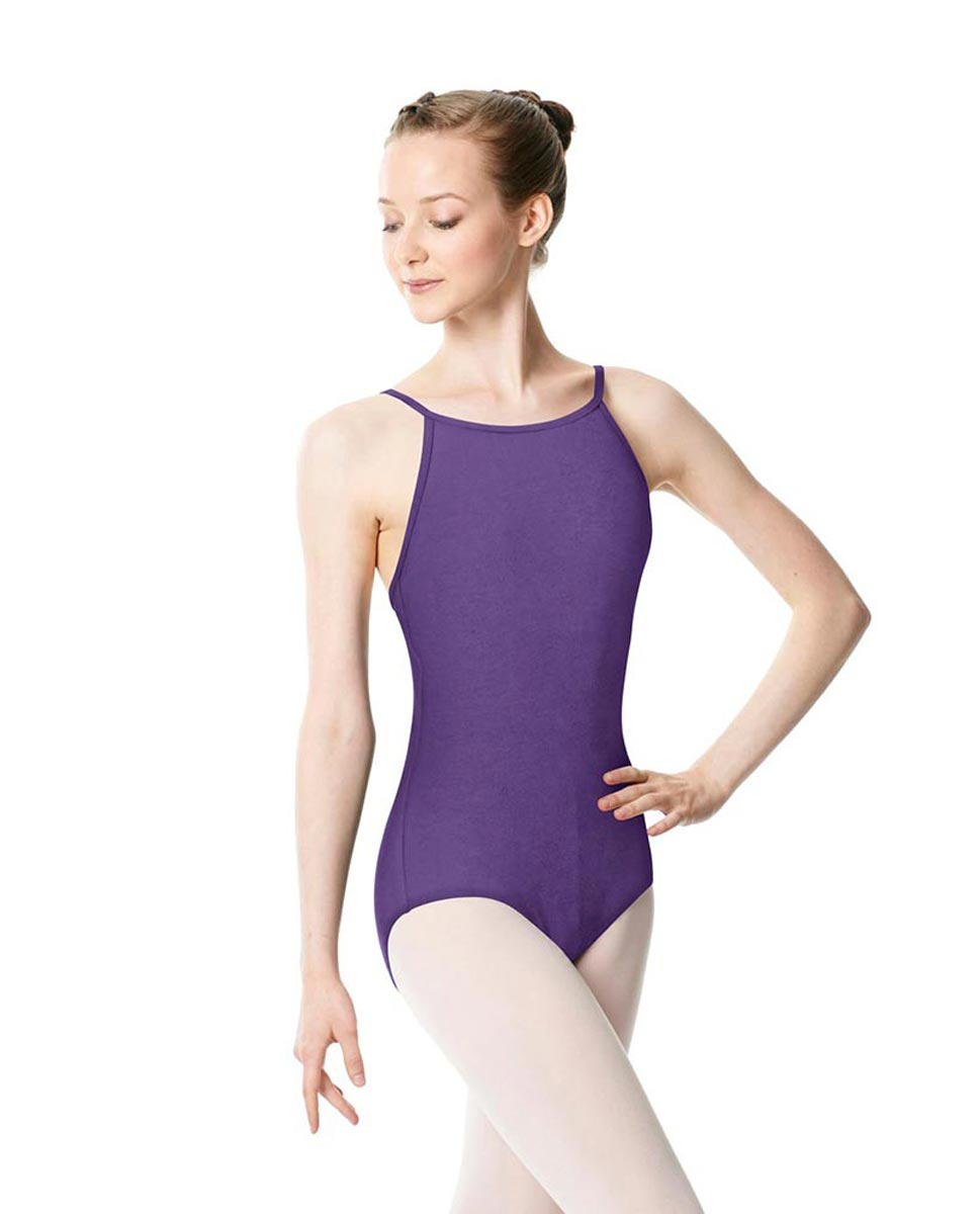 Adults High Jewel Neck Camisole Ballet Leotard Calla LAV
