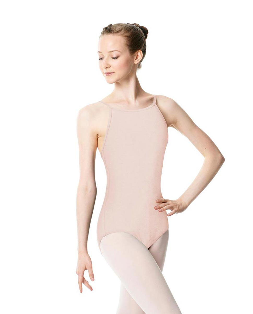 Adults High Jewel Neck Camisole Ballet Leotard Calla LPNK
